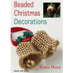 Christmas Decorations made using Twin Hole beads
