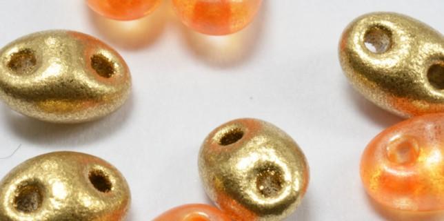 twin hole bead