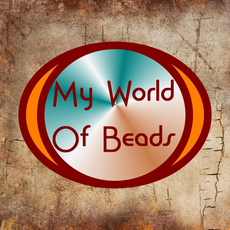 Beads Company Logo: My World Of Beads