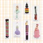 sian's beaded needle cases