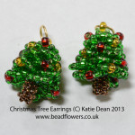 christmas beading projects