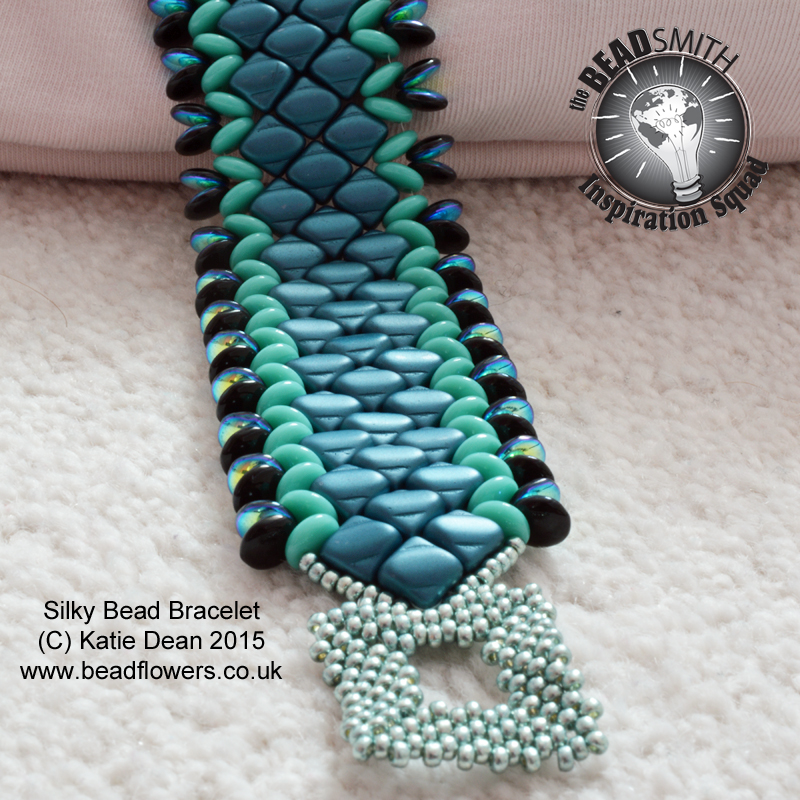d5e7b6c9b17 Copying beading patterns is a topic that creates a lot Silky Beads Cuff  Bracelet Tutorial