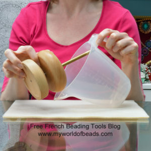 free French beading tools