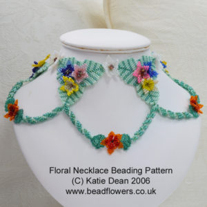 Summer Beading Projects: Summer Flowers Necklace