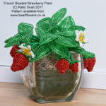 Summer Beading Projects: Strawberry Plant