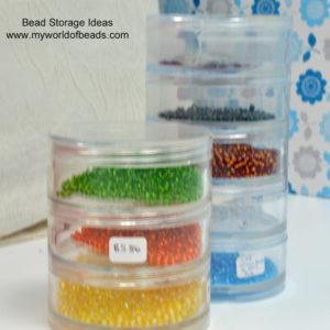 Bead Storage Ideas, My World of Beads