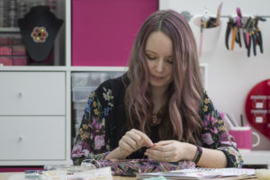 Jane Austen Beading Kit, Chloe Menage, Pinkhot Jewellery, Featured on My World of Beads