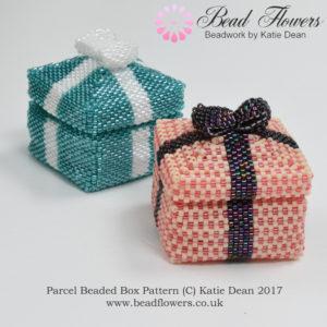 Parcel Beaded Box Pattern, Katie Dean