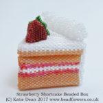 Strawberry Shortcake Beaded Box