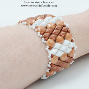 How to size a bracelet, Katie Dean, My World of Beads