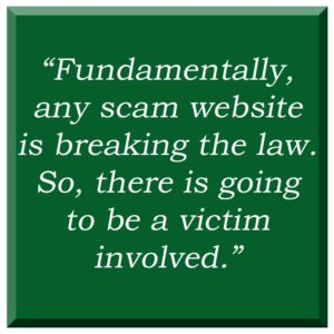 Scam beading websites information and help