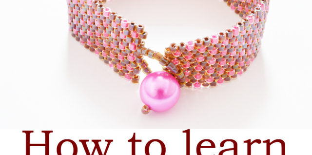 How to Learn Peyote Stitch with Katie Dean, My World of Beads