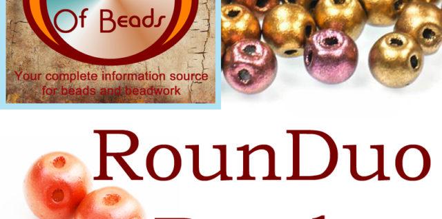 RounDuo Beads, Katie Dean, My World of Beads