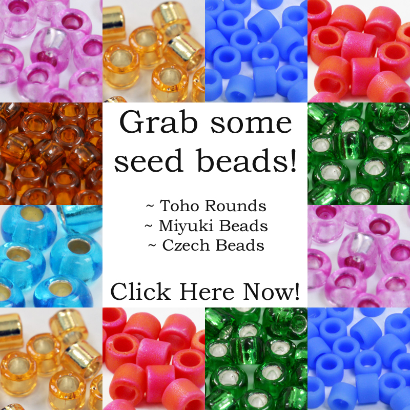 Buy seed beads: Miyuki, Toho, Czech